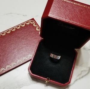 Cartier 5.5mm White Gold Love Ring EU 47 // US 4